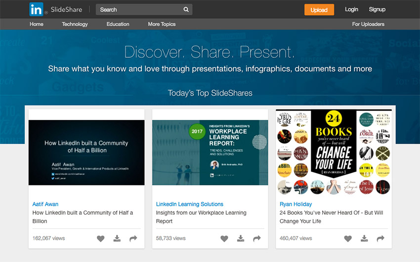 What is SlideShare and why might you want to use it