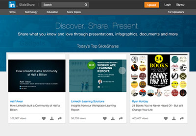How to Upload Your SlideShare Slides to Share on LinkedIn