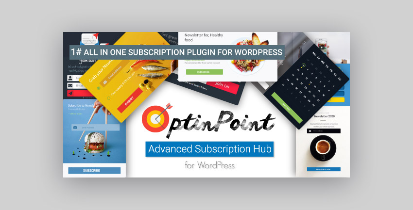 OptinPoint WordPress subscription plugin