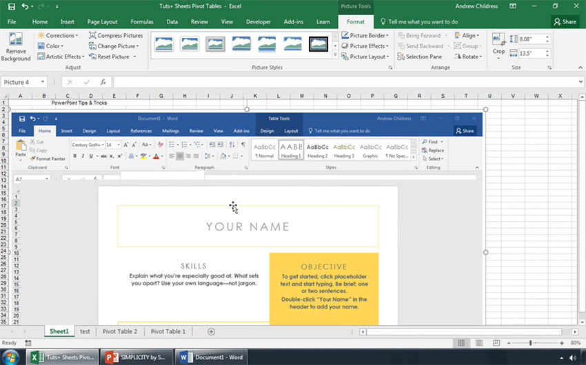 How to Grab a Screenshot in Excel in 60 Seconds