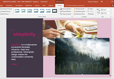 How to add pictures to powerpoint