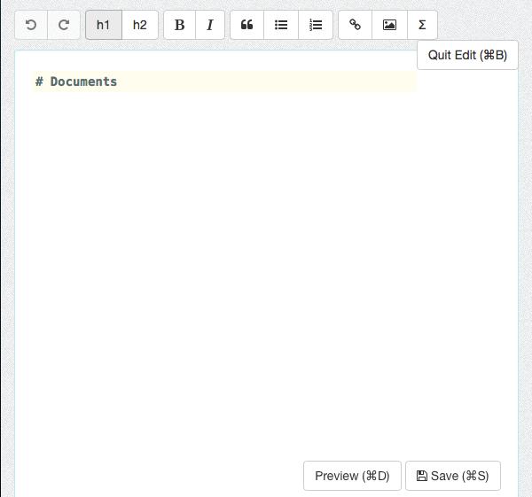 Torchpads editing screen