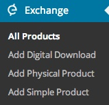 iThemes Exchange  Products Dropdown