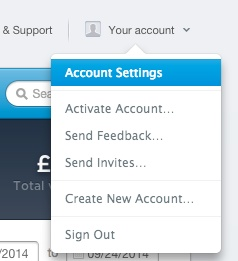 Stripe Account Settings