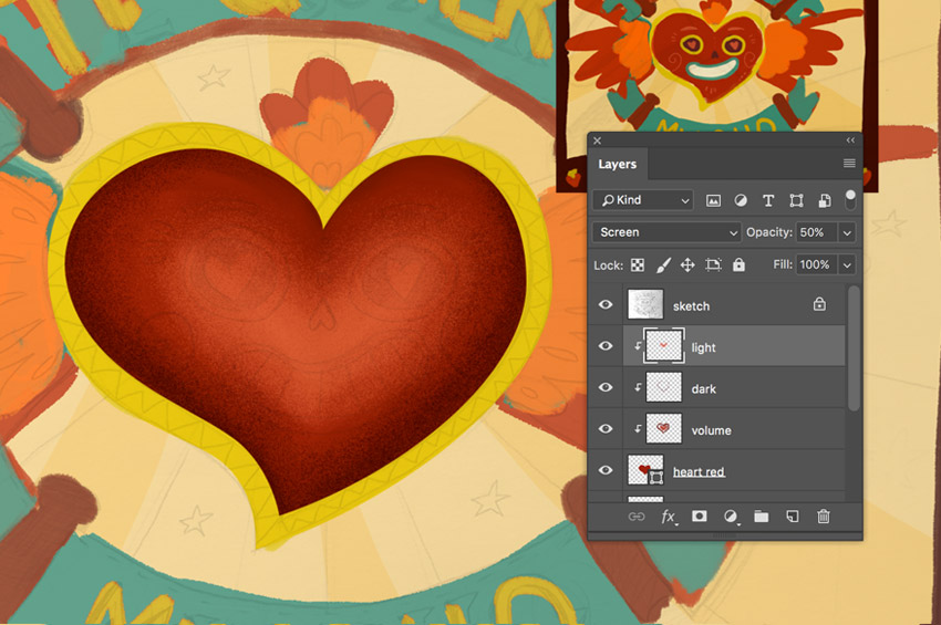 How to Create a Textured, Hand-Lettered Card in Adobe Photoshop