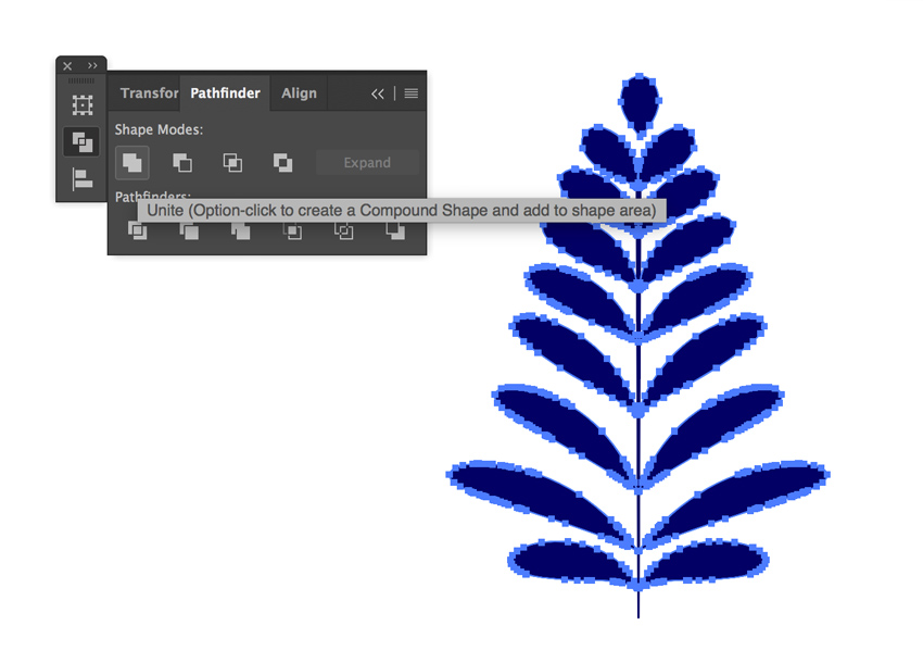 Expand art brush objects appearance
