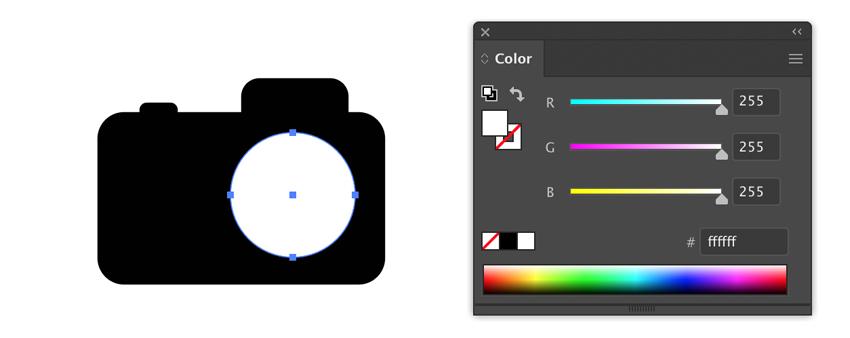 Drawing a circle in Adobe Illustrator