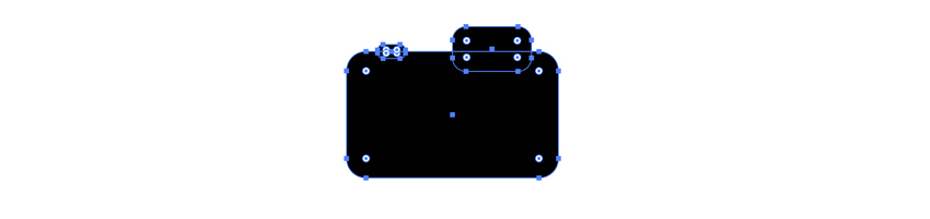 Add details to vector camera icon