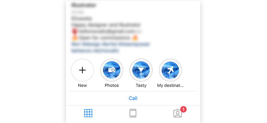 How to get icons for instagram highlights