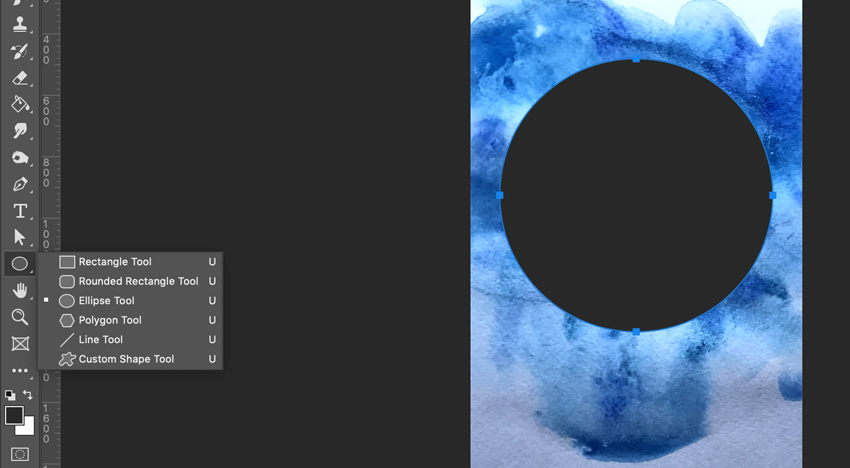 Drawing perfect circle in Adobe Photoshop