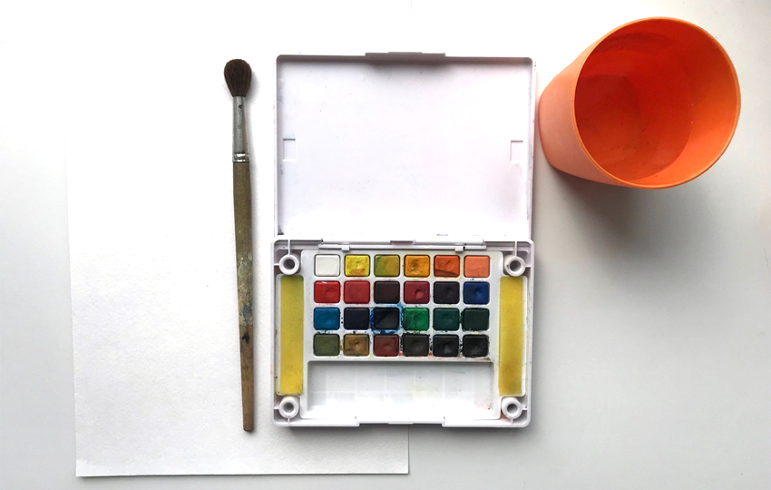 Watercolor Supplies youll need