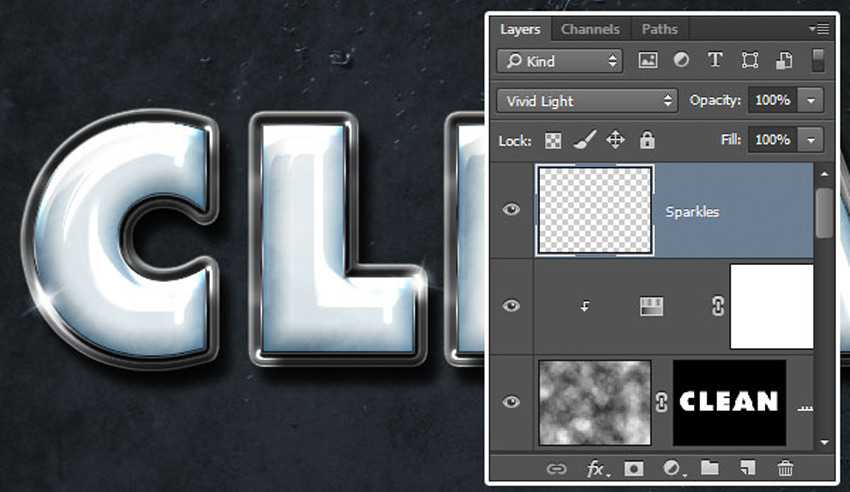 How to Create a Plastic Effect in Photoshop Tutorial Adding the Sparkles
