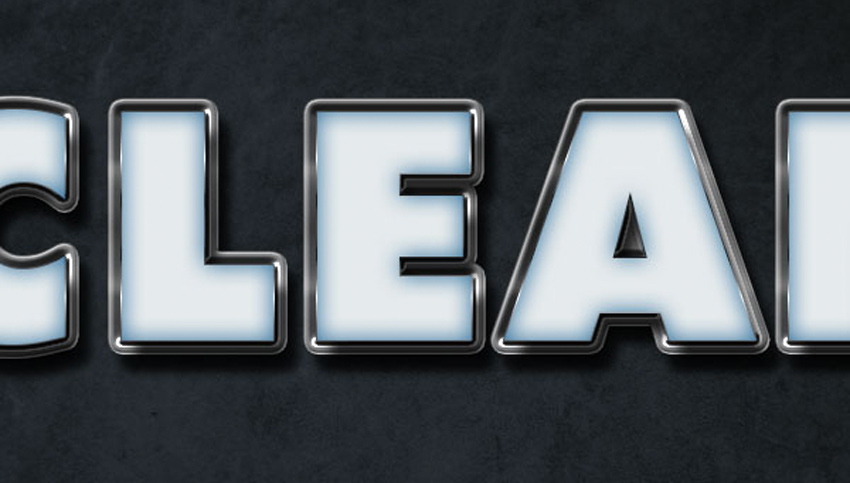 How to Create a Glossy Shine Effect in Photoshop Tutorial Colored Part of the Text