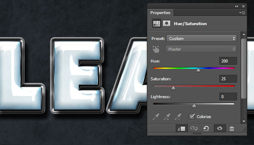 How to Create a Plastic Effect in Photoshop Tutorial Colorizing the Texture