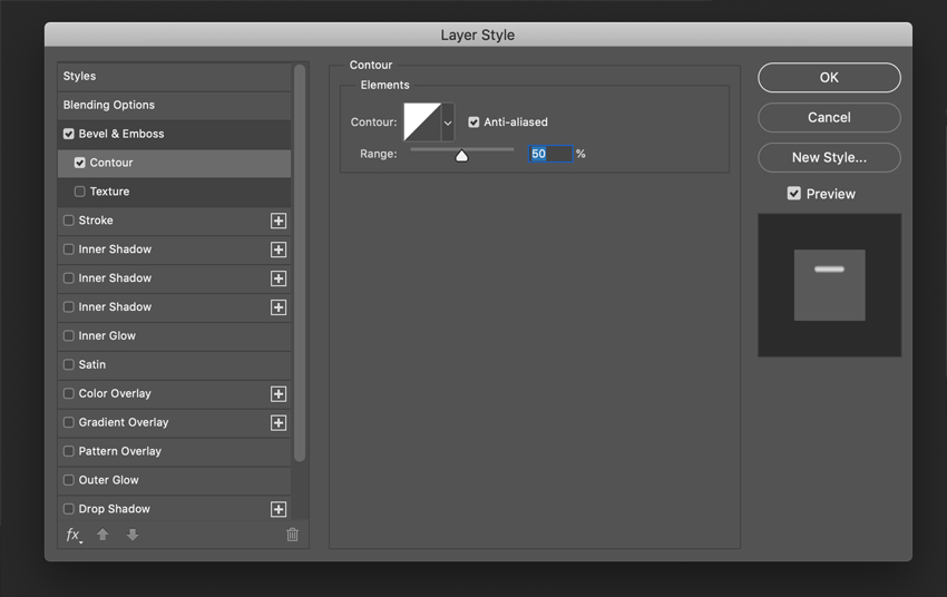How to Create a Plastic Effect in Photoshop Tutorial Contour