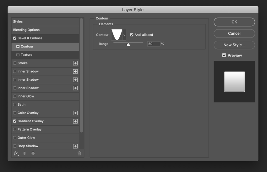 How to Create a Glossy Shine Effect in Photoshop Tutorial Contour