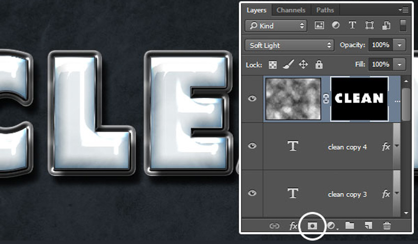 How to Create a Plastic Effect in Photoshop Tutorial Add Layer Mask