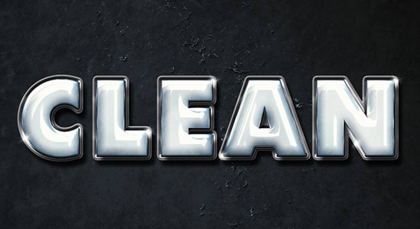 How to Create a Clean, Glossy Plastic Text Effect in Adobe