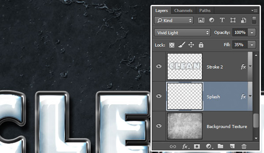 How to Create a Plastic Effect in Photoshop Tutorial Splash Layers Blend Mode and Fill Value