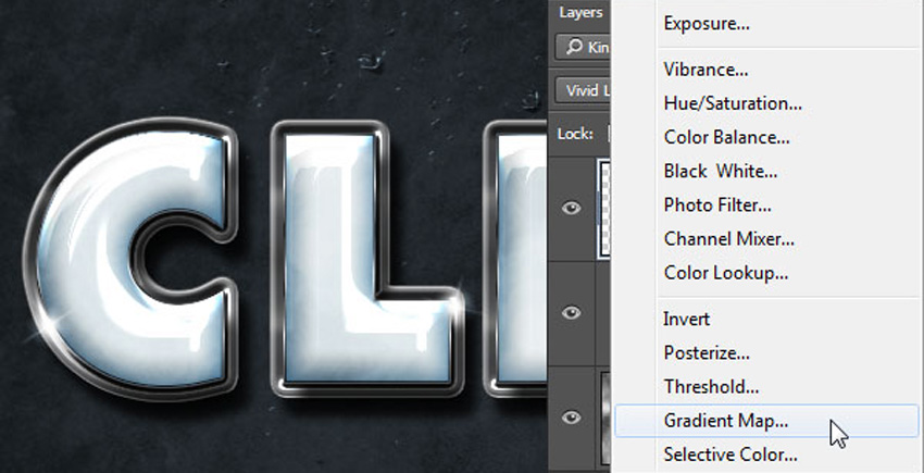 How to Create a Plastic Effect in Photoshop Tutorial Gradient Map