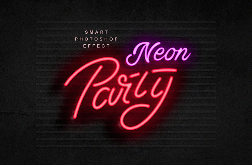 How to Create a Realistic Neon Light Text Effect in Adobe Photoshop