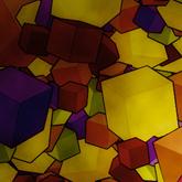 3D Transform a Colorful Cube Design
