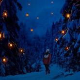How to Create a Glowing Winter Night Photo Manipulation in Adobe Photoshopp