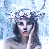 How to Create a Wintry Deer Portrait Photo Manipulation in Photoshop