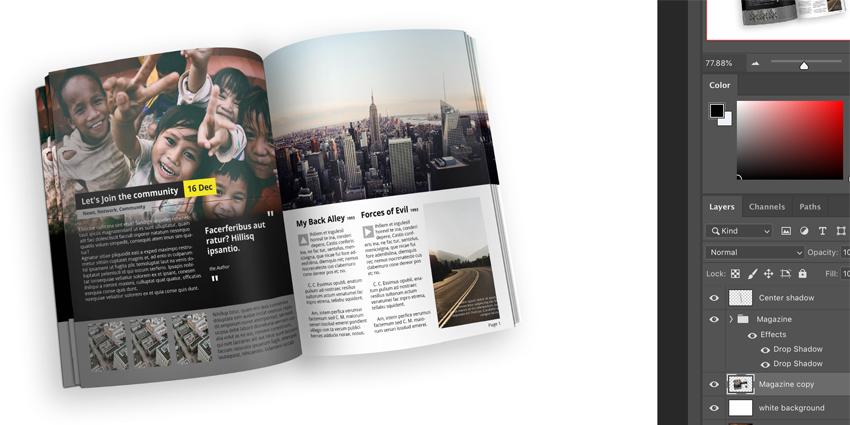 Duplicate magazine group