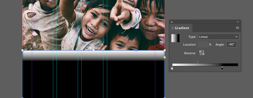 Add linear gradient