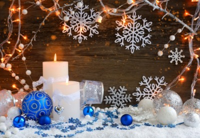 Christmas candles with christmas ornaments and pxuly9w%20(3)