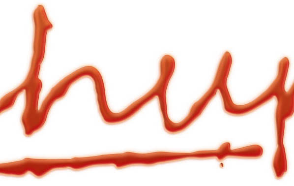 Ketchup Text Effect