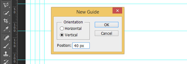 horizontal guides