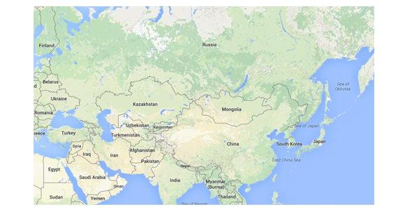 Bản đồ từ Google Maps
