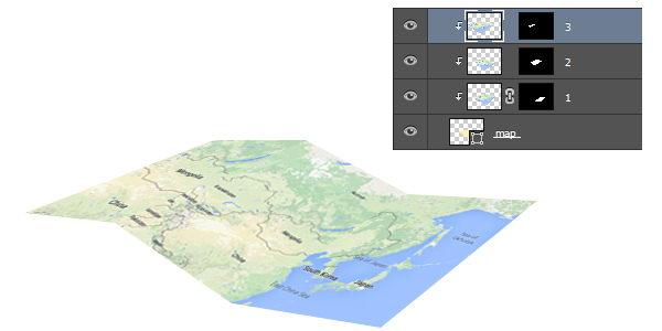Thêm bản đồ vào giấy