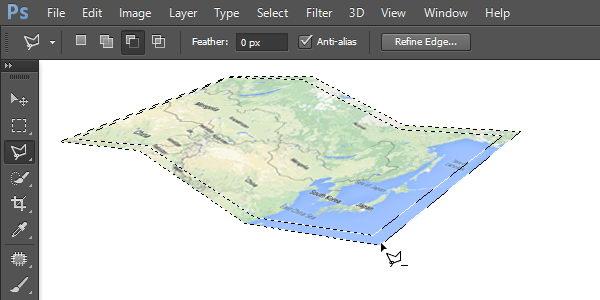 Thêm bản đồ biên giới