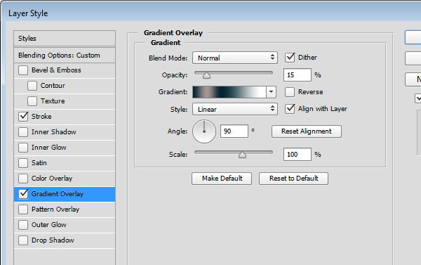 Designing Icon Base - Gradient Overlay