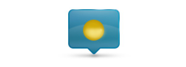 Add Icon Sign - After adding light yellow in the sun