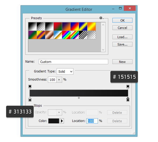 Gradient Editor for Stroke