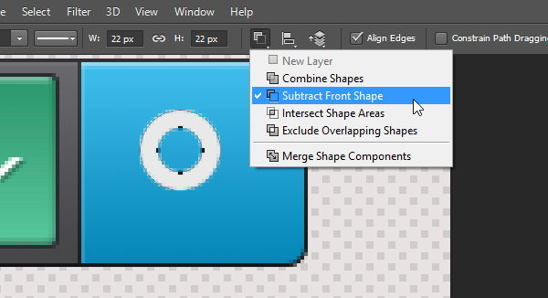 Draw magnifier icon