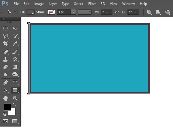 Draw screen thickness