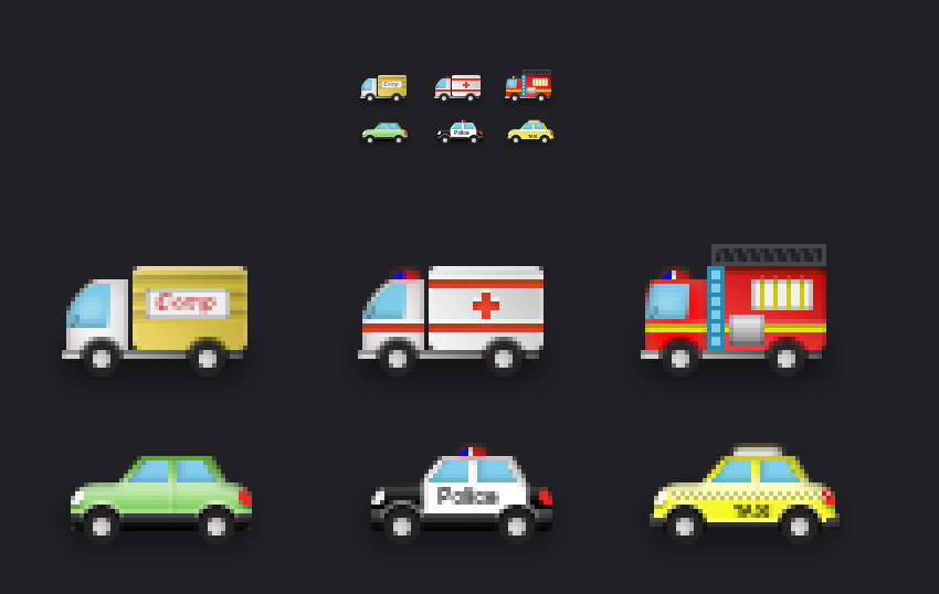 How to Create Car and Van Emojis Using Adobe Photoshop