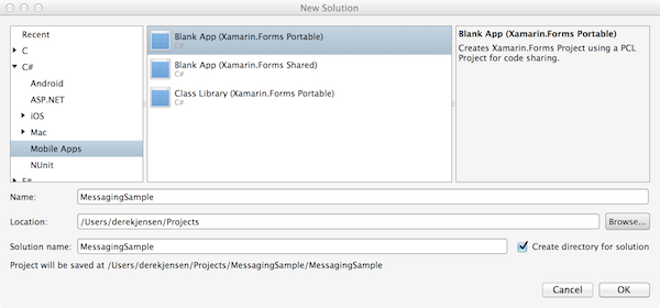 An Introduction to Xamarin Forms and Messaging