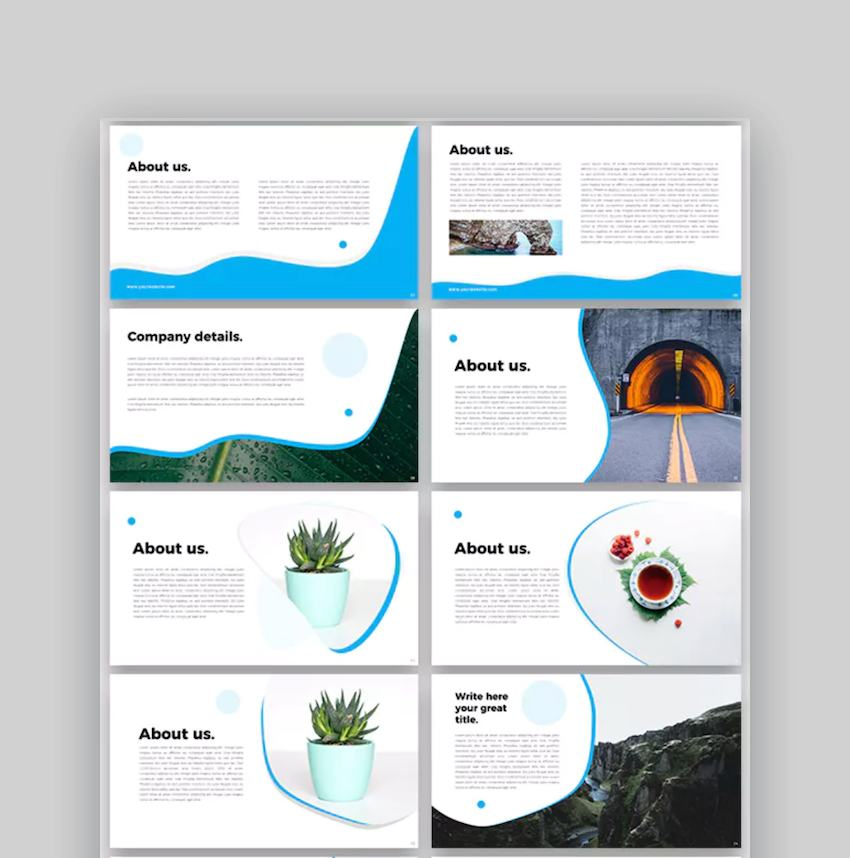 Gufi 2 Google Slides Template