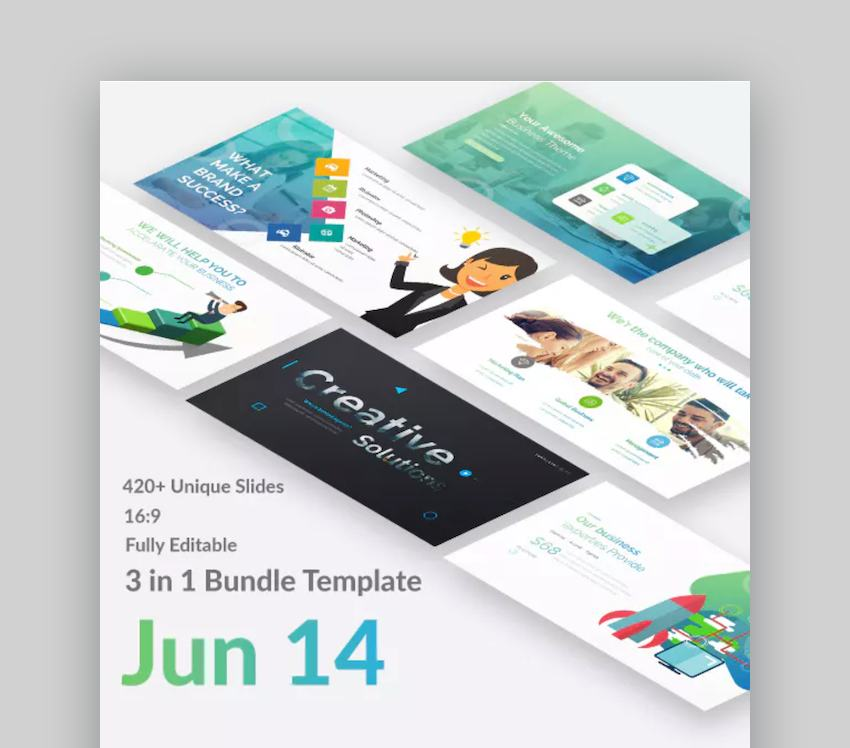 3-1-in Bundle Google Slides Templates for Teachers