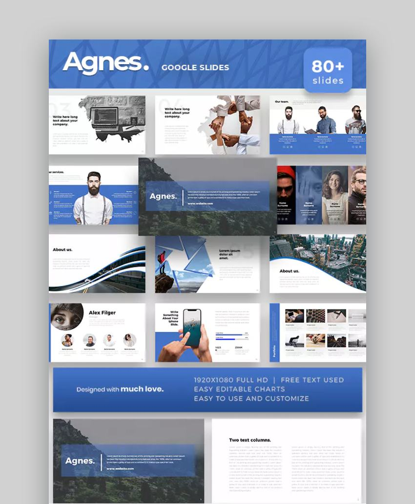 Agnes Education Google Slides Templates