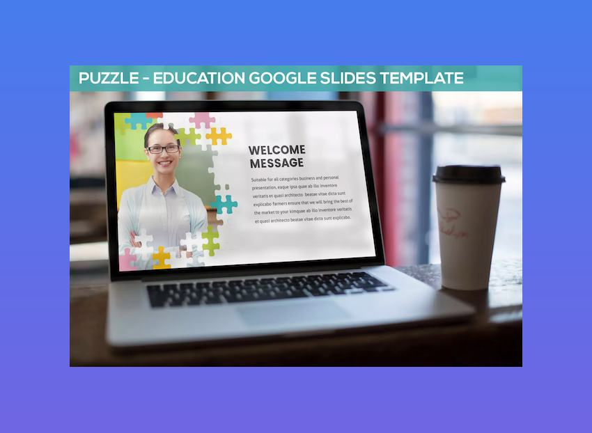 Puzzle Google Slides Theme for Teachers