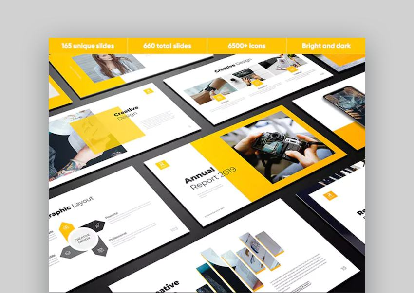 Report Education Google Slides Themes