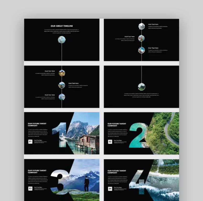 Lummerville Creative PowerPoint Templates