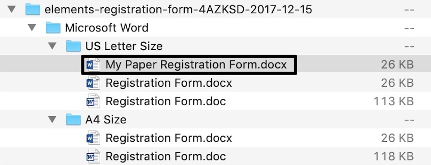 How to Customize a Registration Form Template Using